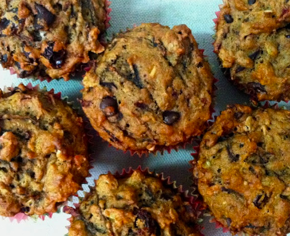Chocolate & Beet Muffins to Wake up your Valentine
