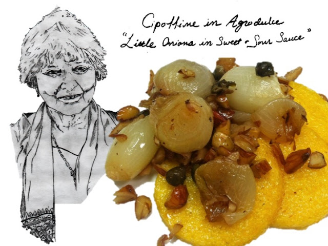 Cipolline in Agrodolce (Little Onions in Sweet & Sour Sauce)