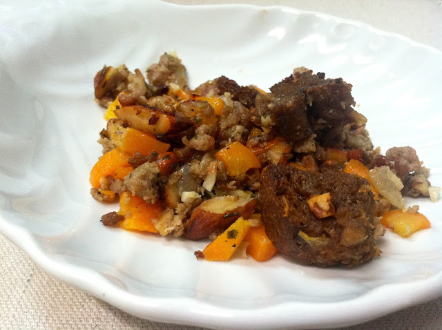 Sausage & Pumpernickel Stuffing