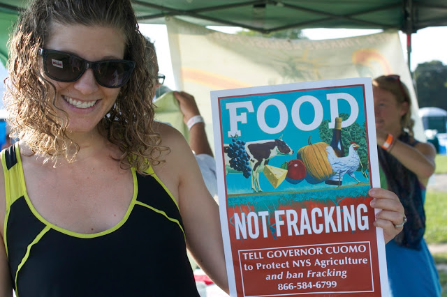 Food, not Fracking: A Taste of Water in the Finger Lakes