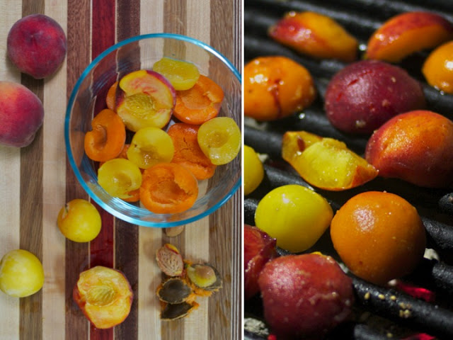 Summer Addiction: Grilled Stone Fruit