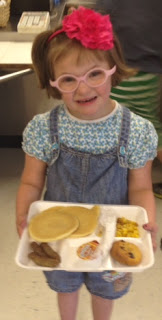 Ophelia's (dismaying) school lunch, in America's richest town