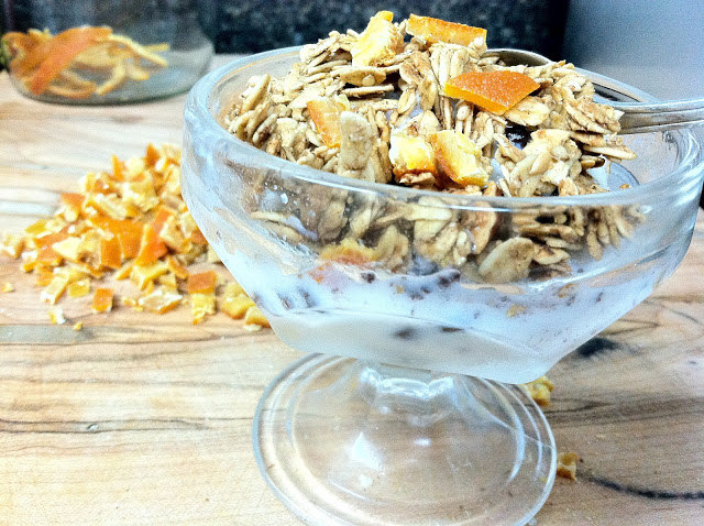 Chai Orange Granola