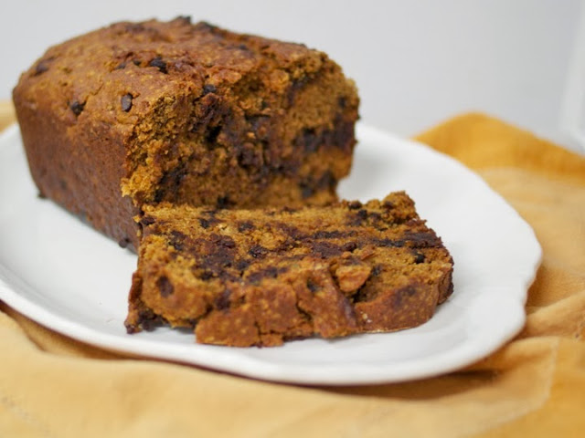 Pumpkin, Chocolate Chip & Sage Bread (or Muffins)