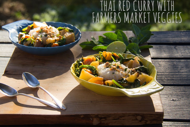 Episode 4: Twins in the Kitchen – Thai Red Curry with Farmers Market Veggies
