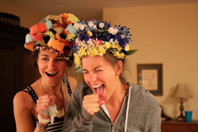 Kate and Katie, the crazy crowns and constant comedic relief.