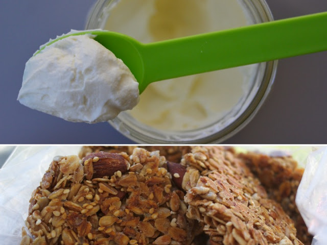 My favorite Maine eats: Greek yogurt from Salt Water Farm and granola from Scratch Baking Co.