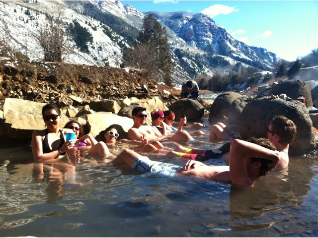 Penny Hot Springs in Carbondale. This is the good life!