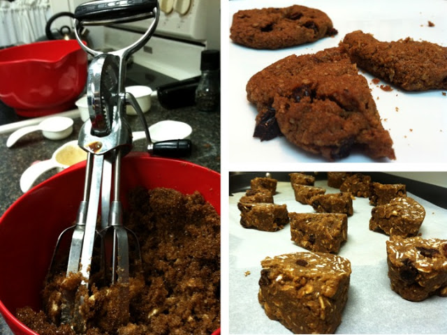 Recipes:Oatmeal Raisin Cookies (from Metropolitan Bakery - the best!)