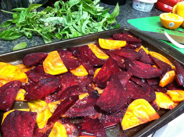 Pureed Beet Soup with Herbed Goat Cheese