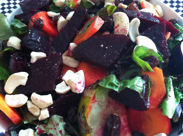 Maple Roasted Beets