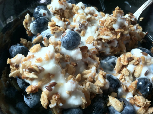 Maple Granola (And the real recipe)