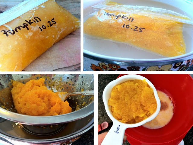 """See below for """"Freezing and Storing Pumpkin and Squash"""""""