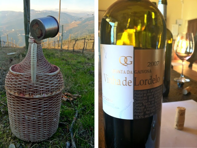 A jug for the workers in the field. It's wine, not water! One of my favorite bottles!
