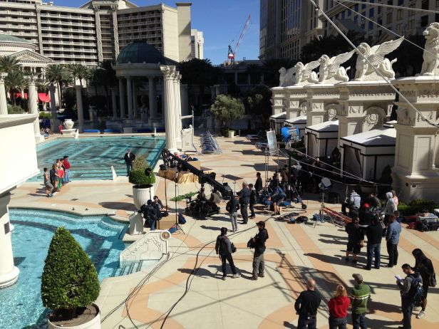 Food Network takes over Caesar's Venus Pool. Source: http://bit.ly/1o1GNqH