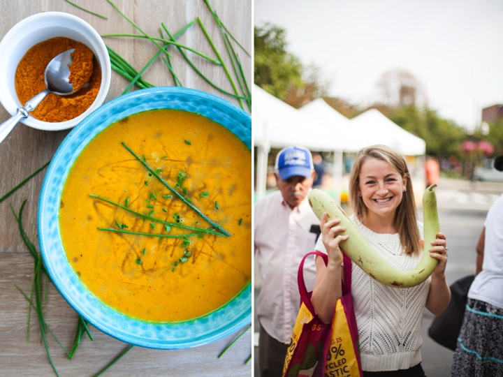 Curried Pumpkin & Pear Soup
