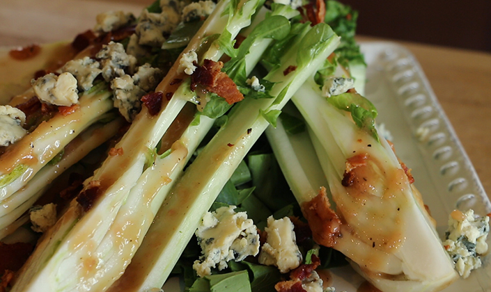 Bok Choy Wedge Salad