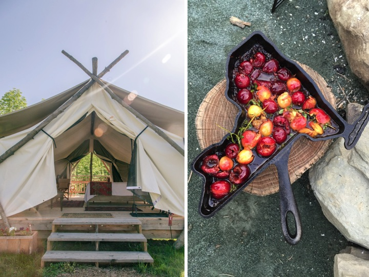 Farm-to-Fireside Meal & Glamping Giveaway