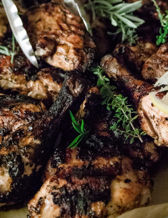 Rosemary-Balsamic Grilled Chicken