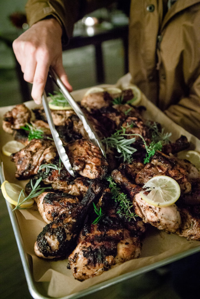 Rosemary-Balsamic Grilled Chicken by Emma Frisch