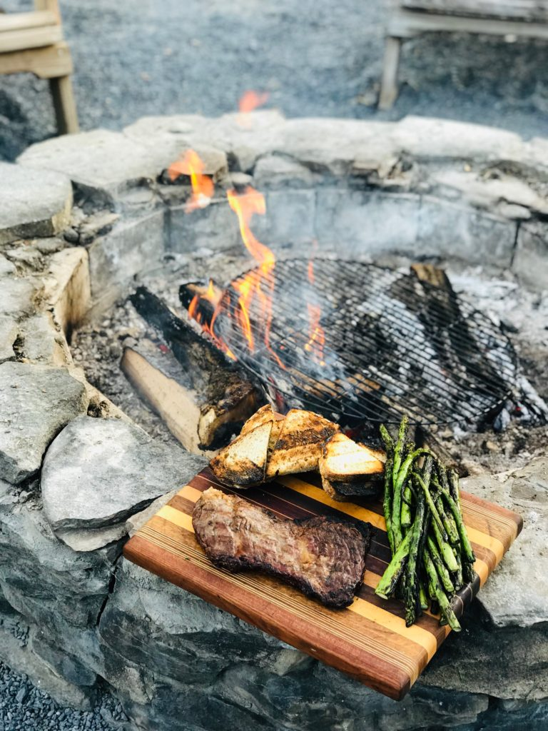 Fire-Licked Skirt Steak by Emma Frisch on The Tastemakers in partnership with American Express Essentials