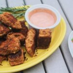Wild Salmon Cutlets Recipe with Mayo Ketchup Sauce