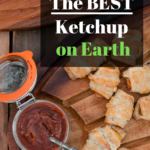 The Best Ketchup Recipe on Earth Pinterest Pin